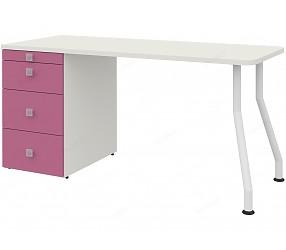 СОЛНЕЧНЫЙ ГОРОД - стол прямой на изогнутых опорах (51S003)