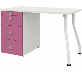СОЛНЕЧНЫЙ ГОРОД - стол прямой на изогнутых опорах (51S013)