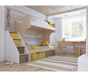 ГЕО САФАРИ - коллекция для детских и молодежных комнат