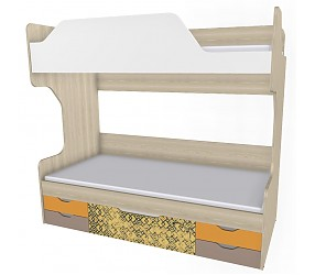 ГЕО САФАРИ - кровать двухъярусная (92K064)