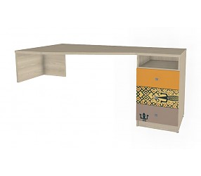 ГЕО САФАРИ - стол с опорой на тумбу (92B004)