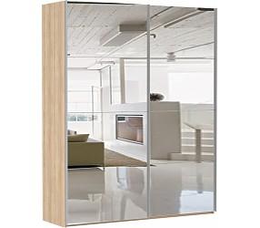 ЭСТА 2-х дверный 8 зеркал - шкаф-купе