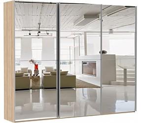 ЭСТА 3-х дверный 12 зеркал - шкаф-купе