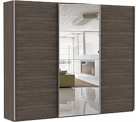 ЭСТА 3-х дверный 4 зеркала - шкаф-купе