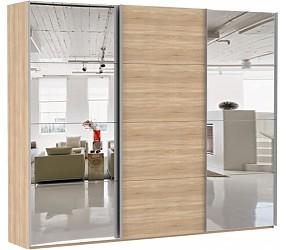 ЭСТА 3-х дверный 8 зеркал- шкаф-купе