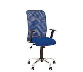 INTER GTR chrome - кресло для персонала