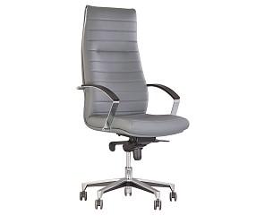 IRIS steel chrome - кресло для руководителя