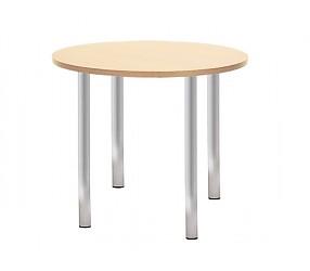 KAJA alu/chrome - стол деревянный