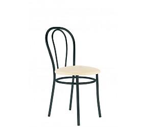 TULIPAN black - стул металлический