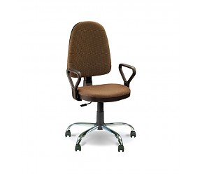 PRESTIGE GTP chrome - кресло для персонала