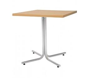 KARINA alu/chrome - стол деревянный