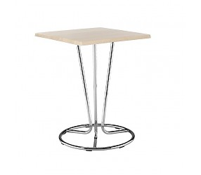 PINACOLADA chrome - стол деревянный