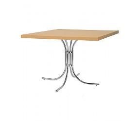SONIA alu/chrome - стол деревянный
