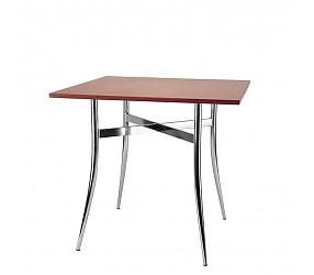 TRACY chrome - стол деревянный