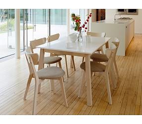 NARVIK - стол обеденный деревянный  (раскладной)