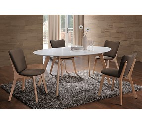 MONTANA - стол обеденный деревянный  (стол нераскладной 90*160 дерево)