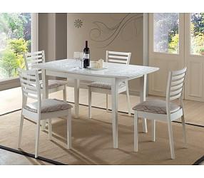 Martina bianco - стол обеденный деревянный  (раскладной)