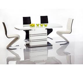 GUCCI - стол обеденный с лаковым покрытием  (раскладной)