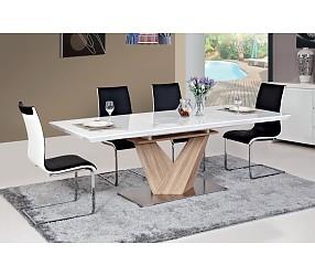 ALARAS - стол обеденный с лаковым покрытием  (раскладной)