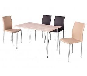 Paulo  - стол обеденный с лаковым покрытием