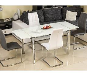 GD-020 - стол обеденный стеклянный (раскладной)