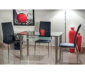 HEKTOR - стол обеденный стеклянный