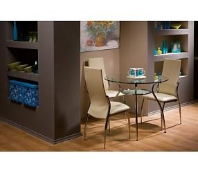 FINEZJA A - стол обеденный стеклянный