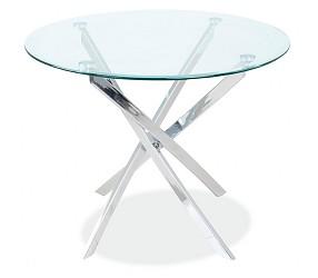 AGIS - стол обеденный стеклянный