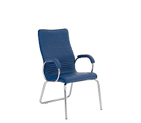 ALLEGRO steel CFA LB chrome - стул для посетителей