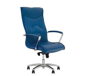 FELICIA steel chrome - кресло для руководителя