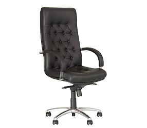FIDEL lux steel chrome - кресло для руководителя