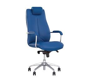 SONATA steel chrome - кресло для руководителя