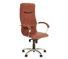NOVA steel chrome - кресло для руководителя