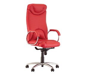 ELF steel chrome - кресло для руководителя
