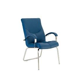 GERMES steel CFA LB chrome - стул для посетителей