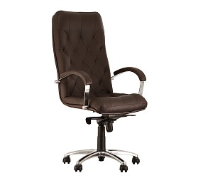 CUBA steel chrome - кресло для руководителя