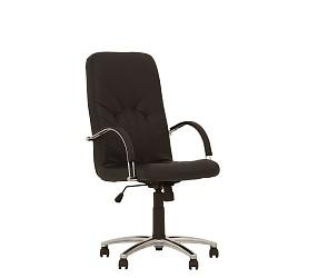 MANAGER steel chrome - кресло для руководителя