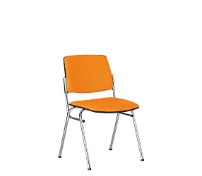 ISIT chrome/white - стул для посетителей