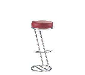 ZETA chrome - стул для барных стоек