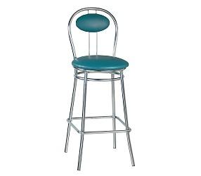 TIZIANO HOKER chrome - стул для барных стоек