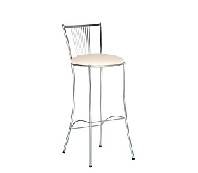 FOSCA HOKER chrome - стул для барных стоек