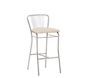 NERON HOKER chrome - стул для барных стоек