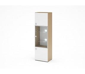 МЕГАПОЛИС - шкаф-витрина с подсветкой (53Н086, 53Н0853)