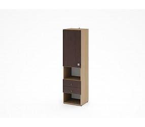 МЕГАПОЛИС - шкаф с полками (53Н001)