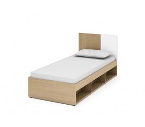 МЕГАПОЛИС - кровать прямая (53К123)