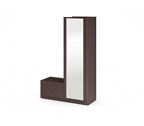 МЕГАПОЛИС - шкаф-гардероб комбинированный с зеркалом (53Н091)