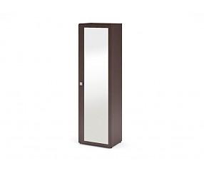 МЕГАПОЛИС - шкаф с полками с зеркалом (53Н084)
