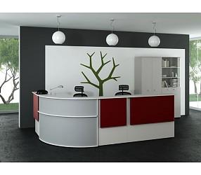 КВАРТАЛ Рецепции - мебель для приемных