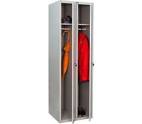 Шкаф для раздевалок ПРАКТИК LS(LE)-21