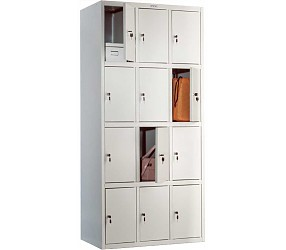 Шкаф для раздевалок ПРАКТИК LS(LE)-34